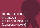 Déontologie et pratique professionnelle (common law)